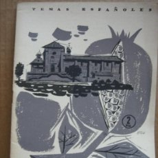 Coleccionismo de Revista Temas Españoles: REVISTA TEMAS ESPAÑOLES Nº 321 AÑO 1957 - LA CARTUJA DE GRANADA. Lote 23473469