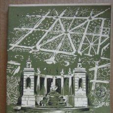 Coleccionismo de Revista Temas Españoles: REVISTA TEMAS ESPAÑOLES Nº 174 AÑO 1955 - PALACIOS Y JARDINES . Lote 27082567