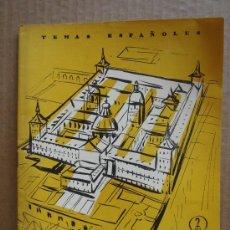 Coleccionismo de Revista Temas Españoles: REVISTA TEMAS ESPAÑOLES Nº 303 AÑO 1957 - EL ESCORIAL . Lote 27082570