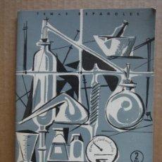 Coleccionismo de Revista Temas Españoles: REVISTA TEMAS ESPAÑOLES Nº 356 AÑO 1958 - INDUSTRIA QUIMICA Y FARMACEUTICA. Lote 13476551