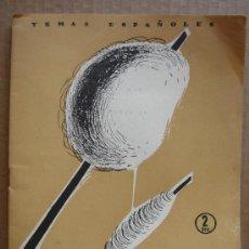 Coleccionismo de Revista Temas Españoles: REVISTA TEMAS ESPAÑOLES Nº 280 AÑO 1956 - EL ALGODON. Lote 13476556
