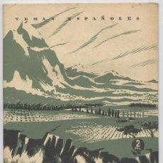 Coleccionismo de Revista Temas Españoles: NUESTRO PAISAJE - TEMAS ESPAÑOLES Nº 41 - AÑO 1953. Lote 18377527