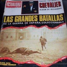 Coleccionismo de Revista Temas Españoles: REVISTA LA ACTUALIDAD ESPAÑOLA - Nº 1045 - ENERO 1972 - ESPAÑOLES CON 20 AÑOS -LAS GRANDES BATALLAS . Lote 27591055