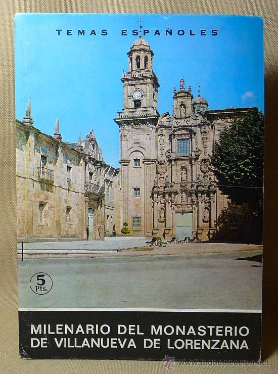 REVISTA, MILENARIO DEL MONASTERIO DE VILLANUEVA DE LORENZANA, TEMAS ESPAÑOLES, 1969, Nº 501 (Papel - Revistas y Periódicos Modernos (a partir de 1.940) - Revista Temas Españoles)