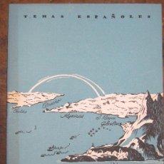 Coleccionismo de Revista Temas Españoles: BIOGRAFÍA DEL ESTRECHO. D.MANFREDI CANO. TEMAS ESPAÑOLES Nº 216. . 1956.. Lote 23551862