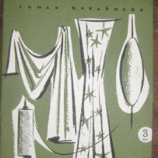 Coleccionismo de Revista Temas Españoles: INDUSTRIA TEXTIL. ENRIQUE CORMA. TEMAS ESPAÑOLES Nº 312. DE CONSERVACIÓN. 1957.. Lote 26403135