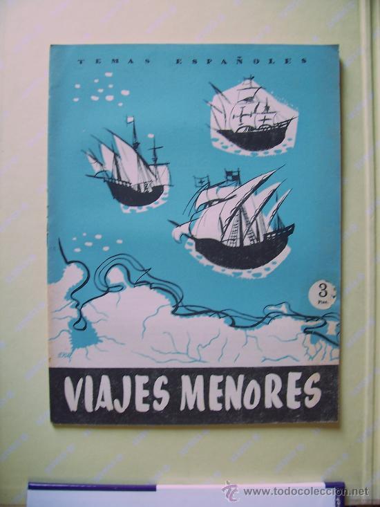 TEMAS ESPAÑOLES - VIAJES MENORES - Nº 310 - 3 PTS - 1957 (Papel - Revistas y Periódicos Modernos (a partir de 1.940) - Revista Temas Españoles)
