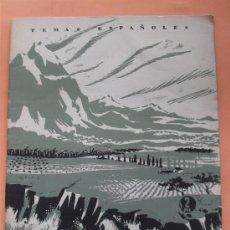 Coleccionismo de Revista Temas Españoles: TEMAS ESPAÑOLES. Nº 41. NUESTRO PAISAJE. AÑO 1956. Lote 111896848