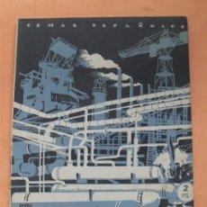 Coleccionismo de Revista Temas Españoles: TEMAS ESPAÑOLES .Nº 19. LA INDUSTRIALIZACIÓN DE ESPAÑA. 1952. Lote 28503829