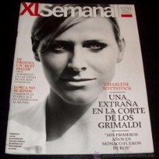 Coleccionismo de Revista Temas Españoles: XL SEMANAL - REVISTA - NUM 1231 - JUNIO 2011 - CHARLENE WITTSTOCK. Lote 28694032