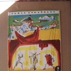 Coleccionismo de Revista Temas Españoles: TEMAS ESPAÑOLES - TIPOS DEL TEATRO - Nº 405 - 3 PTS.. Lote 28971608
