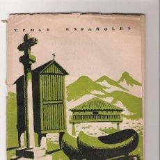 Collectionnisme de Magazine Temas Españoles: GALICIA Y ASTURIAS - TEMAS ESPAÑOLES Nº 59. Lote 29059181