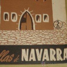 Coleccionismo de Revista Temas Españoles: TEMAS ESPAÑOLES Nº 196 DEL AÑO 1955 - LAS 5 VILLAS DE NAVARRA - DIBUJOS DE EGU. PRENSA GRAFICA. Lote 29187978