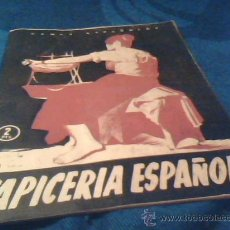 Coleccionismo de Revista Temas Españoles: TEMAS ESPAÑOLES. Nº 172. TAPICERIA ESPAÑOLA. PUBLICACIONES ESPAÑOLAS 1955. 30 PAGINAS. 17 X 24 CMS.. Lote 30194583