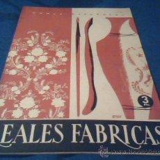Coleccionismo de Revista Temas Españoles: TEMAS ESPAÑOLES. Nº 124. REALES FABRICAS. PUBLICACIONES ESPAÑOLAS 1959. 30 PAGINAS. 17 X 24 CMS.. Lote 30194655