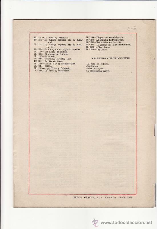Coleccionismo de Revista Temas Españoles: TEMAS ESPAÑOLES Nº 239 - LAS FALLAS - LUIS OTERO BRAVO - PUBLICACIONES ESPAÑOLAS - 1956 - Foto 2 - 32023440
