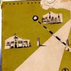Coleccionismo de Revista Temas Españoles: TEMAS ESPAÑOLES Nº 333, FRONTERAS, PUBLICACIONES ESPAÑOLAS, MADRID 1957. Lote 33216588