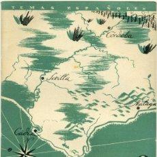 Coleccionismo de Revista Temas Españoles: TEMAS ESPAÑOLES - FRENTES DEL SUR - Nº 24. Lote 34114082