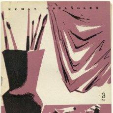 Coleccionismo de Revista Temas Españoles: TEMAS ESPAÑOLES - PINTORES ESPAÑOLES II - Nº 168. Lote 34114115