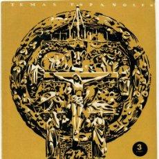 Coleccionismo de Revista Temas Españoles: TEMAS ESPAÑOLES - ESPAÑA EN LOS ALTARES - Nº 8. Lote 34114318