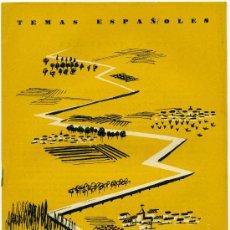 Coleccionismo de Revista Temas Españoles: TEMAS ESPAÑOLES - PLAN ZARAGOZA - Nº 370. Lote 34114517