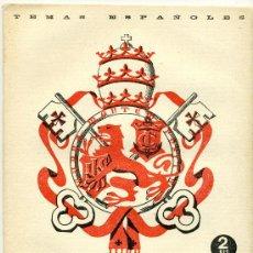 Coleccionismo de Revista Temas Españoles: TEMAS ESPAÑOLES - EL MARQUES DE COMILLAS - Nº 83. Lote 34266287