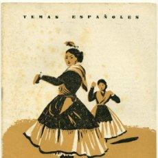 Coleccionismo de Revista Temas Españoles: TEMAS ESPAÑOLES - MUJERES DE ESPAÑA - Nº 74. Lote 34266471