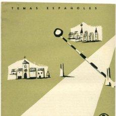 Coleccionismo de Revista Temas Españoles: TEMAS ESPAÑOLES - FRONTERAS - Nº 333. Lote 34267298