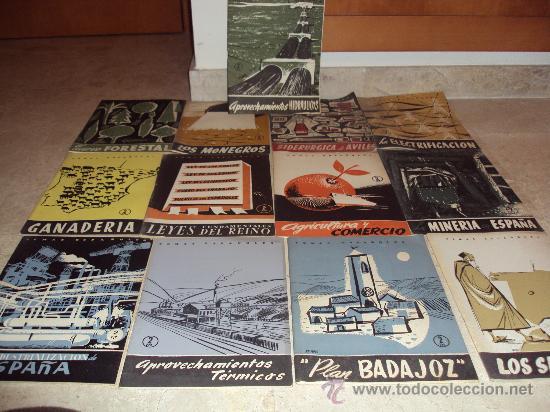 LOTE DE 13 REVISTAS TEMAS ESPAÑOLES (Papel - Revistas y Periódicos Modernos (a partir de 1.940) - Revista Temas Españoles)