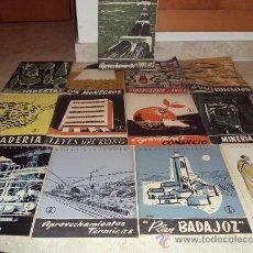 Coleccionismo de Revista Temas Españoles: LOTE DE 13 REVISTAS TEMAS ESPAÑOLES. Lote 34970369