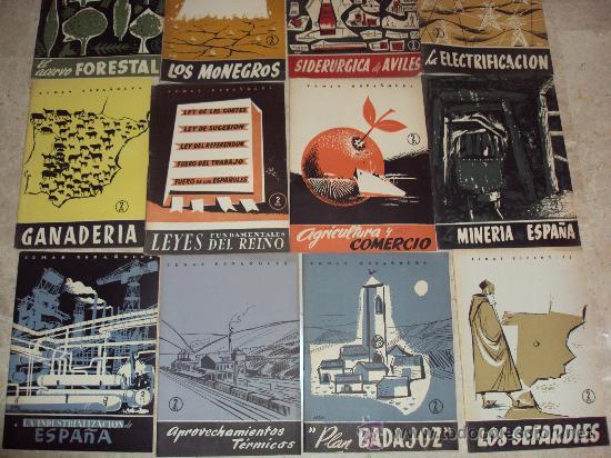 Coleccionismo de Revista Temas Españoles: Lote de 13 Revistas Temas Españoles - Foto 2 - 34970369