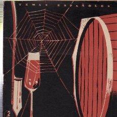 Coleccionismo de Revista Temas Españoles: TEMAS ESPAÑOLES, JEREZ Y SUS VINOS, Nº 266, PUBLICACIONES ESPAÑOLAS 1956. Lote 35745606