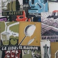 Coleccionismo de Revista Temas Españoles: REVISTA LOTE DE 69 REVISTAS TEMAS ESPAÑOLES 1953-1959. Lote 37109060