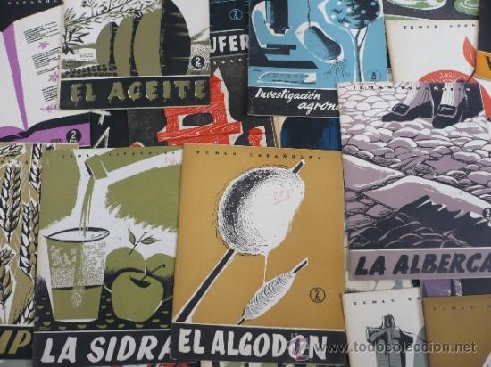 Coleccionismo de Revista Temas Españoles: REVISTA LOTE DE 69 REVISTAS TEMAS ESPAÑOLES 1953-1959 - Foto 3 - 37109060