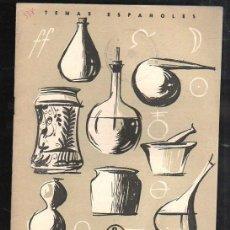 Coleccionismo de Revista Temas Españoles: REVISTA TEMAS ESPAÑOLES. Nº 338. FARMACOPEA POR LUIS AGUIRRE PRADO. Lote 37135757
