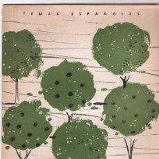 Coleccionismo de Revista Temas Españoles: TEMAS ESPAÑOLES Nº 336 - ARBOLES FRUTALES - 1957. Lote 38301247