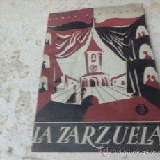 Coleccionismo de Revista Temas Españoles: LIBRO TEMAS ESPAÑOLES Nº 128 LA ZARZUELA C. FERNANDEZ LUNA 1959 L-4217. Lote 38353879