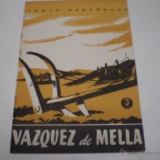 Colecionismo da Revista Temas Españoles: TEMAS ESPAÑOLES- Nº 121-VAZQUEZ DE MELLA-PUBLICACIONES ESPAÑOLAS -1959-30 PAGINAS- N 8. Lote 229489180