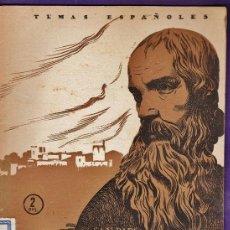 Coleccionismo de Revista Temas Españoles: REVISTA - TEMAS ESPAÑOLES Nº 183 - ALONSO CANO / VIRGENES - F. POMPEY - VER FOTO - AÑO 1955 - JB. Lote 41612186