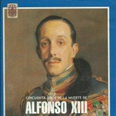 Coleccionismo de Revista Temas Españoles: CUADERNILO GRAFICO DE 50 AÑOS DE LA MUERTE DE ALFONXO XII. Lote 42487508