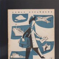 Collectionnisme de Magazine Temas Españoles: SERVICIOS POSTALES - Nº 360 - TEMAS ESPAÑOLES 1958 / ILUSTRADO. Lote 42795314