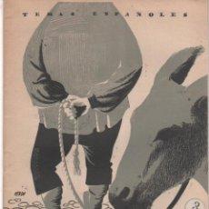 Coleccionismo de Revista Temas Españoles: REVISTA TEMAS ESPAÑOLES Nº 214: MERCADOS Y FERIAS. AÑO 1955. Lote 43343227
