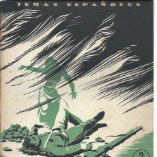 Coleccionismo de Revista Temas Españoles: TEMAS ESPAÑOLES Nº 89, DE CASTILBLANCO A CASAS VIEJAS, PUBLICACIONES ESPAÑOLAS MADRID 1954. Lote 43961481