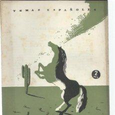 Coleccionismo de Revista Temas Españoles: TEMAS ESPAÑOLES Nº 57 HERNÁN CORTÉS, PUBLICACIONES ESPAÑOLAS MADRID 1951. Lote 43961921