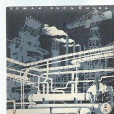 Coleccionismo de Revista Temas Españoles: TEMAS ESPAÑOLES Nº 19,LA INDUSTRIALIZACIÓN DE ESPAÑA, PUBLICACIONES ESPAÑOLAS MADRID 1952. Lote 43961937