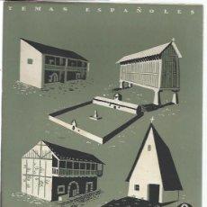 Coleccionismo de Revista Temas Españoles: TEMAS ESPAÑOLES Nº 20, LA CASA TRADICIONAL EN ESPAÑA, PUBLICACIONES ESPAÑOLAS MADRID 1952. Lote 43961958