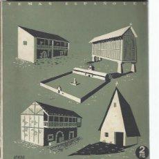 Coleccionismo de Revista Temas Españoles: TEMAS ESPAÑOLES Nº 20, LA CASA TRADICIONAL EN ESPAÑA, PUBLICACIONES ESPAÑOLAS MADRID 1952. Lote 43961966