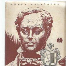 Coleccionismo de Revista Temas Españoles: TEMAS ESPAÑOLES Nº 26 DONOSO CORTES, PUBLICACIONES ESPAÑOLAS MADRID 1954. Lote 43962084
