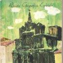Coleccionismo de Revista Temas Españoles: REVISTA GEOGRAFICA ESPAÑOLA- GUIA DESCRIPTIVA DE CATEDRALES DE ESPAÑA -1961. Lote 45231409