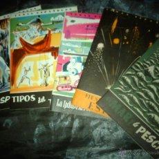 Coleccionismo de Revista Temas Españoles: TEMAS ESPAÑOLES LOTE DE 5 EJEMPLARES. Lote 46124581